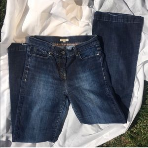 Burberry Wiltshire London Flare Jeans